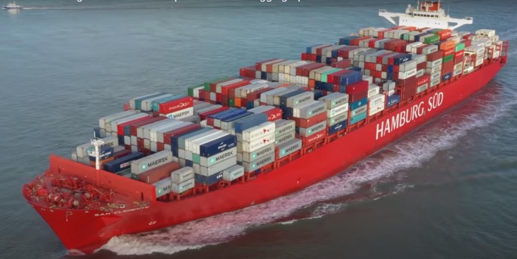 carga marítima Peru